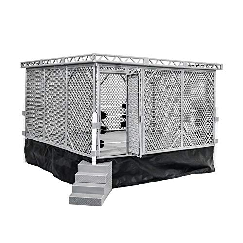 Figures Toy Company Ring Steel Cage Playset [Ring Not Included]