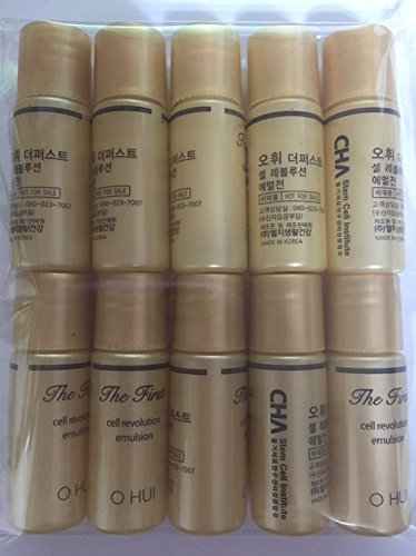 10 X Ohui The First Cell Revolution Emulsion_5.5ml (55ml). Super Saver Than Normal Size