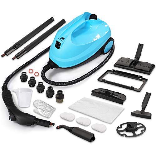 MLMLANT 2000W Steam Mop Cleaner, Multipurpose handheld Steamer,1500ML,20 Accessories,Floors, Windows,Carpet,bed bug,sofa,cooker,upholstery,kitchen