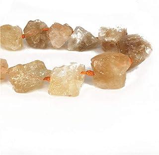 AITELEI Piedras crudas Irregulares Naturales Rough Rock Crystals Granos Flojos, 20-30 mm Perforado de Piedras Preciosas para DIY Collar Pulsera fabricación de Joyas