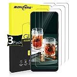 NONZERS Verre Trempé pour Samsung Galaxy A50/A30 [3 Pack] HD 3D Touch Dureté 9H Protecteur...