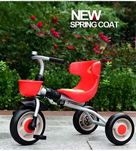 DYB Triciclo para niños, Triciclo para niños de 3 Ruedas,