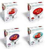 Balance de Cuisine NUMERIQUE - 5Kg - Précision 1gr. - g/kg/oz/lb - MAUVE