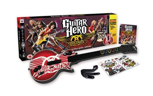 Guitar Hero: Aerosmith - Guitar Bundle (PS3) [import anglais]