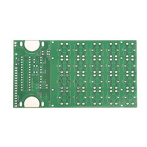 LYFEI DIY-Kit LCD Mehrzweck elektronischen Taschenrechner Elektronik Computing mit Acrylic Case DIY Rechner-Kostenzähler Kit Rechner Experimentelles Modul