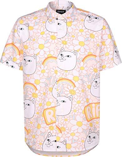 Rip N Dip Daisy Daze Button Up korte mouwen shirt