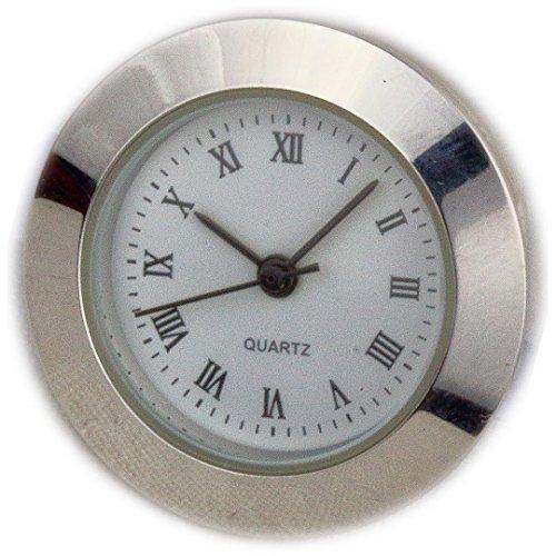 Einsteck Quarz Werk für Bilderuhr Uhren Eigenbau römische Zahlen