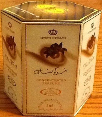 Choco Musk- 6ml (.2oz) Roll-on Perfume Oil by Al-Rehab (Crown Perfumes) (Box of 6) by Al-Rehab