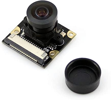 Waveshare Raspberry pi Camera Module Kit Wider Field View Fisheye Lens 5 MP OV5647 Sensor 1080P Supports Night Vision Adjustable Focal Length for All Version of Raspberry pi(Pi 2)A/A+/B/B+/2 B - Trova i prezzi più bassi