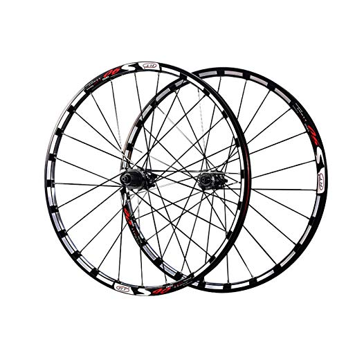Cycling Wheel Set,Bicycle Wheel Set 26 Inches, 27.5 Inches Ultra Light 5 Bearing CNC Process Aluminum Alloy Suitable for Bicycles Bike Front Wheel Rear Wheel B,27.5 inch