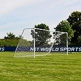 FORZA Alu60 Football Goals - Premium Freestanding Aluminium Goal - 10 Sizes (18.5ft x 6.5ft, Pair of Goals)