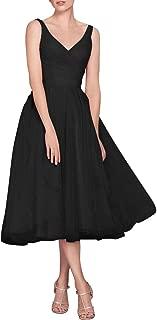 tea length tulle bridesmaid dresses