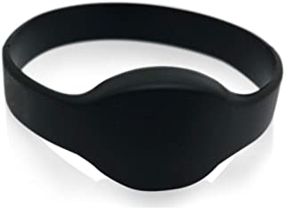 5 Black 26 Bit Proximity Wristbands INTELLid Weigand Prox Wrist Band Compatable with ISOProx 1386 1326 H10301 Format Readers. Works with The vast Majority of Access Control Systems