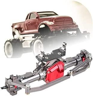 Godyluck Vorne und Hinten Br/ücke Achswellen/übertragungsbr/ücke mit Differential f/ür 1//10 Axial SCX10 RC4WD D90 RC Crawler Klettern Auto