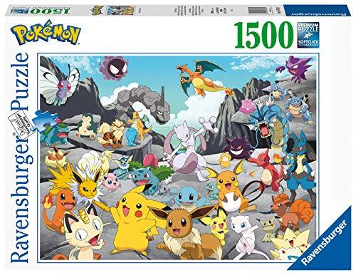 Ravensburger Puzzle 16784 - Pokémon Classics - 1500 Teile Puzzle für Erwachsene und Kinder ab 14 Jahren, Pokémon Puzzle