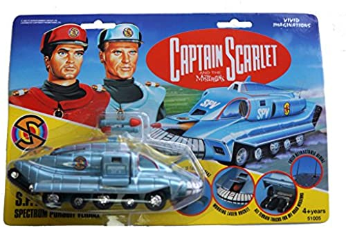 1993 Spectrum Pursuit Vehicle (SPV) Captain Scarlet Vivid Imaginations Diecast Vehicle by Vivid Imaginations