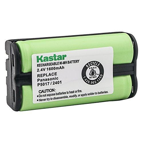 Kastar 2.4V 1600mAh Rechargeable Cordless Ni-MH Battery Replacement for Radio Shack/Tandy 23272, 23-272, 433520, 43-3520, Panasonic HHR-P546A KX-TGA420B Home Phone