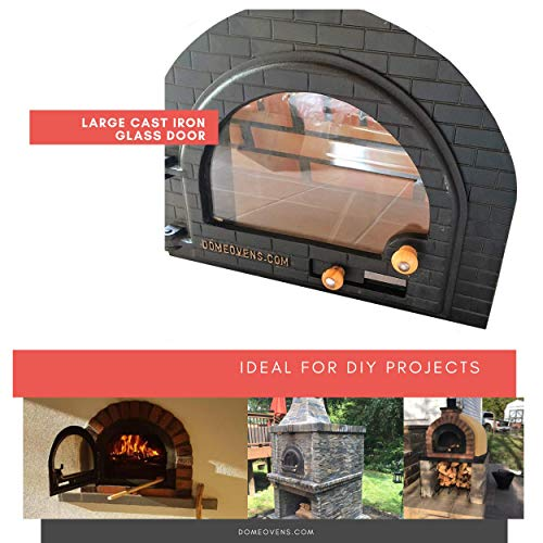 brick oven door - 1