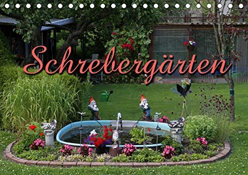 Schrebergärten (Tischkalender 2021 DIN A5 quer)