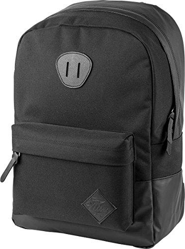 Nitro Urban Classic, Old School Daypack mit gepolstertem Laptopfach, urbaner Streetpack, Alltagsrucksack, Schulrucksack, Schoolbag, 20 L, Tough Black