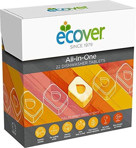 Ecover Lavavajilla Maq All-In-One Ecover 65 Tab - 300 g