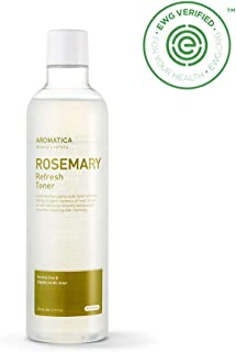 AROMATICA Rosemary Refresh Toner 12.68oz / 375ml for 7skin, Vegan, EWG VERIFIED