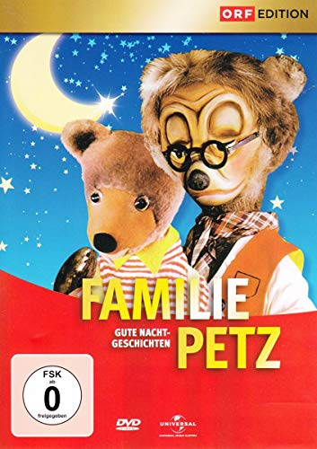 Familie Petz - Gute Nacht-Geschichten Box 1 [Italia] [DVD]