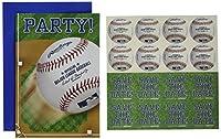 amscan Rawlings 野球コレクション ポストカード パーティー招待状 48枚