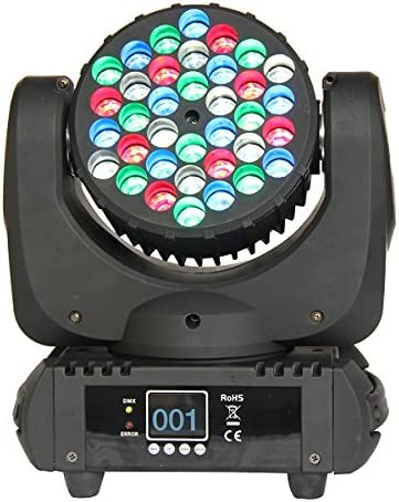 Yuexin 36x3w RGBW DJ DMX Stage Directly managed store Party Moving Head Disco Beam Ligh Sale SALE% OFF
