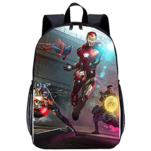 Zaino casual Avengers Infinity War Zaino unisex Borse per la scuola di moda Zaini Borse per la scuola per adolescenti Zaini per ragazzi Borse da viaggio per ragazze Cartelle