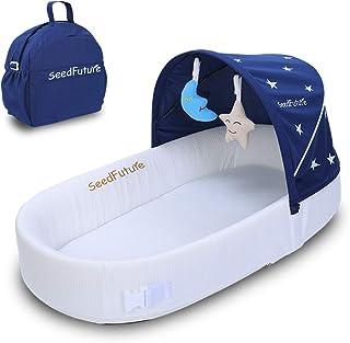 Bassinets para recién nacido bebé viaje portátil dormir nido tumbona bebé dormir cacerola, Gratis