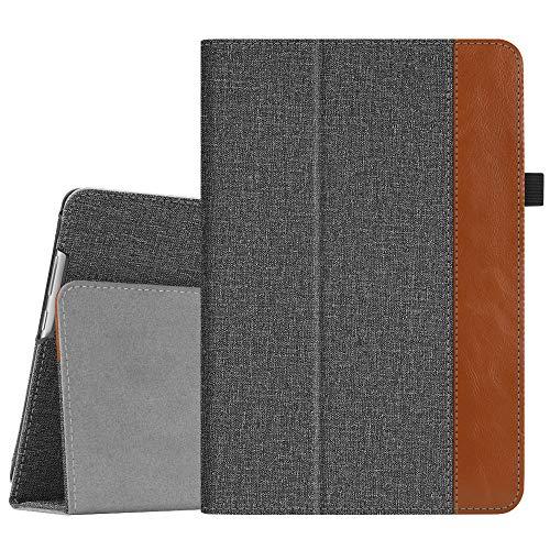 Fintie Hülle Hülle für Huawei MediaPad M5 Lite 10 - Ultra Schlank Folio Kunstleder Schutzhülle mit Auto Sleep/Wake Funktion für 10.1