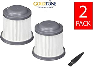 GOLDTONE Replacement Vacuum Filter Replaces BLACK & DECKER Pivot Vacuum Filter PVF110 90552433-03 for: PHV1410, PHV1810, PHV1210, BDH2000PL, BDH2020FLFH, BDH1620FLFH, HFVAB320JC26, HFVB320J27 (2 PACK)