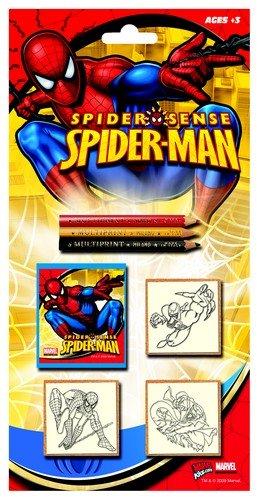 Multiprint - Tampons à imprimer - 3 Tampons Spider-Man