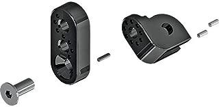 Cycle Pirates 360 Adjustable Footpeg Mounting Kit - Black HAP-B