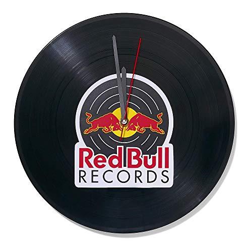 Red Bull Records Vinyl Klok, Unisex Een Maat - Officiële Kleding