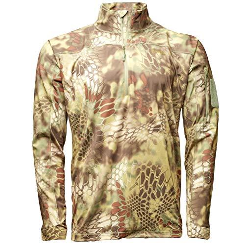 Kryptek Valhalla Chemise zippée 2 L pour Homme XL Mandrake