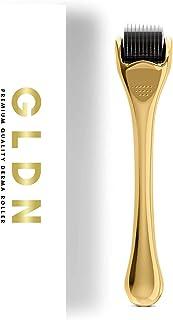Derma Roller by GLDN Luxury Skincare Collection - تمام غلتک درما برای استفاده از چین و چروک ، رشد مو ، رشد ریش ، خطوط ریز ، علائم کشش و آکنه - 540 میکرونیدل تیتانیوم (0.25 میلی متر)
