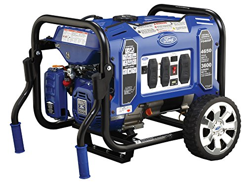 ford gas generators Ford FG4650P M Series 4650W Peak 3600W Rated Portable Gas-Powered Generator