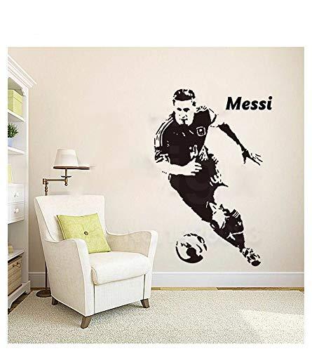 wandtattoos dschungelbuch Lionel Messi Barcelona Tore Fußball Fußball Barca Argent Für Wohnzimmer Für Schlafzimmer Für Jungenzimmer