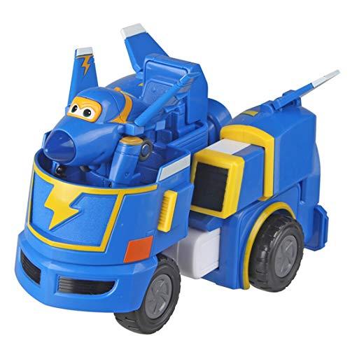 Jerome grondvoertuigen super superman te koelen vliegende puzzel speelgoed auto voertuig robot-Jerome super vleugel robot pak vervormbaar