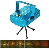 JIAXUN Mini Projector Christmas Decorations LED Disco Light Dj Voice-Activated DJ Disco Xmas Party Club Light