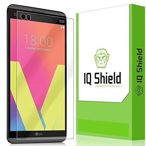 IQ Shield Screen Protector Compatible with LG V20 LiquidSkin Anti-Bubble Clear Film
