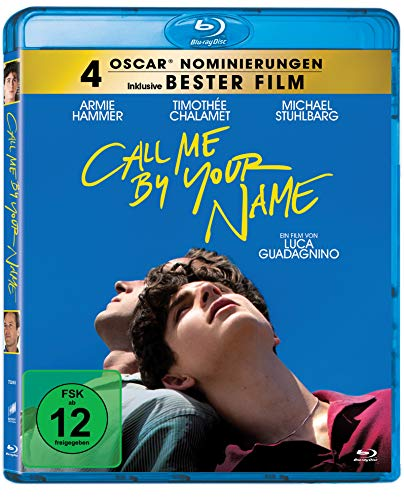 Call me by your name [Blu-ray]
