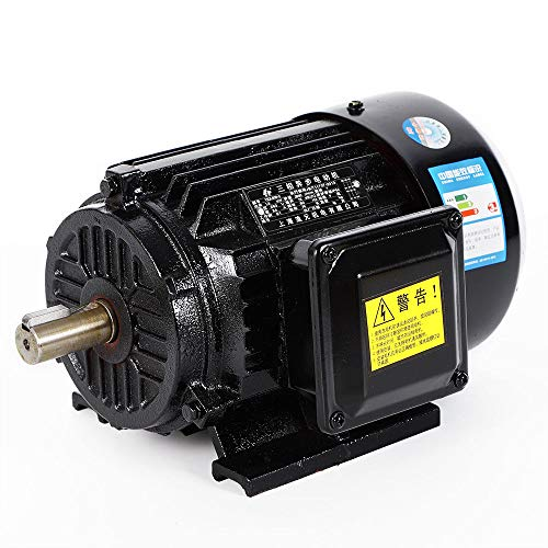 RANZIX 1.5KW 3 phas Elektromotor Drehstrommotor Kompressor Motor Asynchronmotor 2800U/min/B3 Kraftstrommotor (1.5KW)