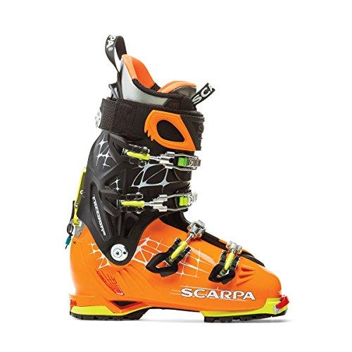 Chaussures Ski Rando Scarpa Freedom Rs Orange/black