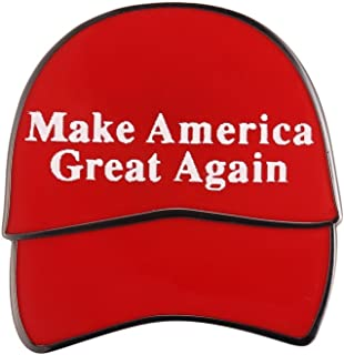 Gudeke Donald Trump President Make Amercia Great Again Lapel Pin