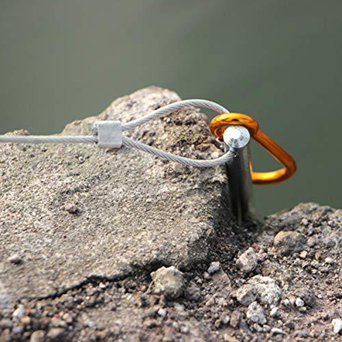 オルルド釣具フロート付きストリンガー(10本フック・10m・シルバー)qb500019b01n0