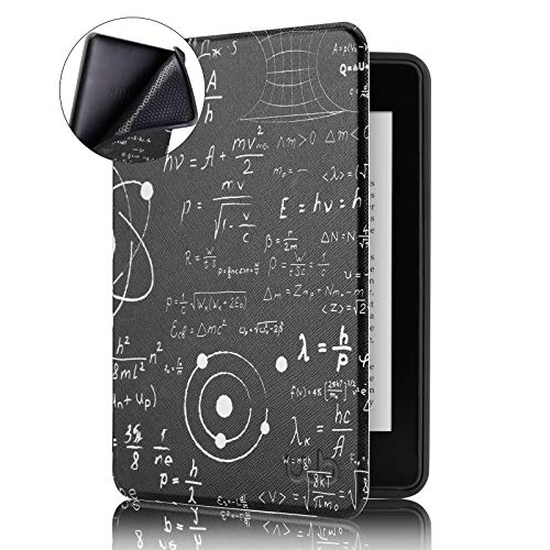 Capa Novo Kindle Paperwhite à Prova D'água WB® Ultra Leve Auto Hibernação Sensor Magnético Silicone Flexível Eureka