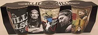 Willie Nelson Shot Glasses with Map